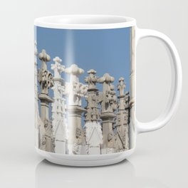 Milan Duomo Rooftop Old and New Coffee Mug