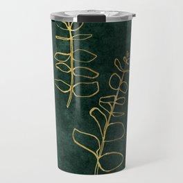 Brass eucalyptus Travel Mug