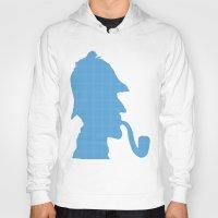 sherlock holmes Hoodies featuring Sherlock Holmes by ialbert