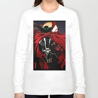 spawn Long Sleeve T-shirts featuring Spawn by Shawn Norton Art
