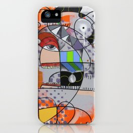 Chuva ácida iPhone Case