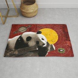 panda bear the lazy Rug