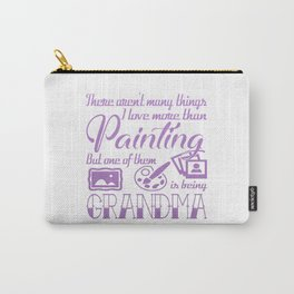 Painting Grandma Carry-All Pouch