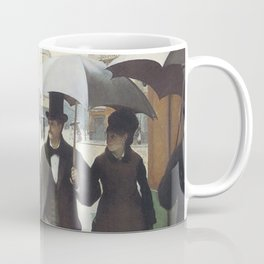 Paris Street Rainy Day Painting Gustave Caillebotte Coffee Mug