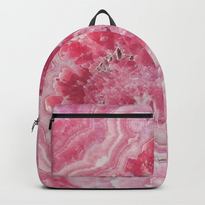 Rose Quartz Gem Backpack