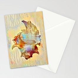 Caracol Rosada Stationery Cards