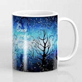 Once Upon A Time ~ Winter Snow Fairytale Forest Coffee Mug
