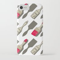 tool iPhone & iPod Cases featuring Tool Time by Pattern Design