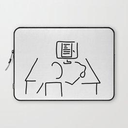 editor technical author script writer Laptop Sleeve