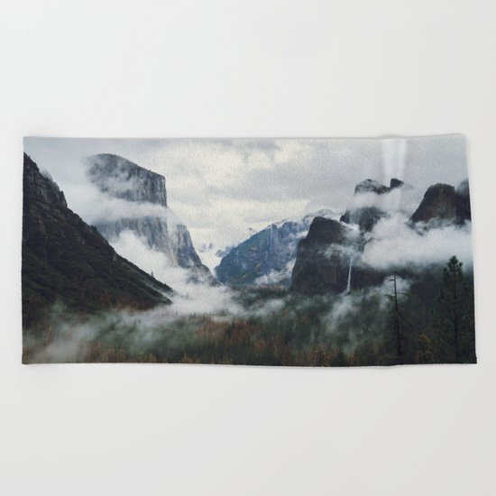 Mountain Landscape photography Beach Towel