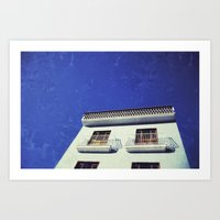 spanish Art Prints featuring Spanish House by Martin Llado