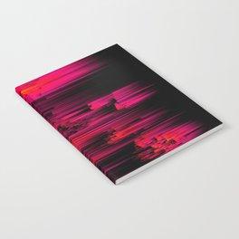 Burnout - Glitch Abstract Pixel Art Notebook