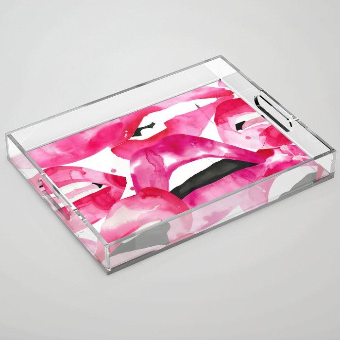 Lip Service Acrylic Tray