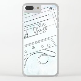 Retro Lovin' Clear iPhone Case