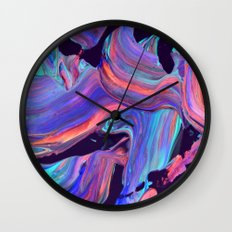 untitled abstract Wall Clock
