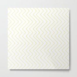 YARA ((chartreuse)) Metal Print