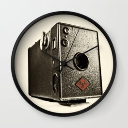 Agfa Box  Wall Clock