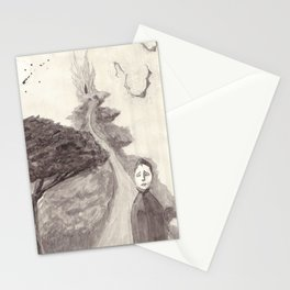 Waiting After Nightfall Stationery Cards