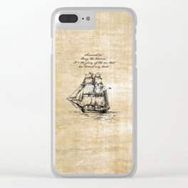 Treasure Island - Robert Louis Stevenson Clear iPhone Case