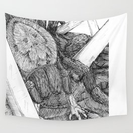 Hand Spider Wall Tapestry