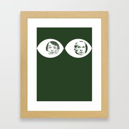Peepers - Peep Show Framed Art Print