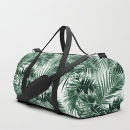 Tropical Palm Leaf Jungle #1 #tropical #decor #art #society6 Duffle Bag