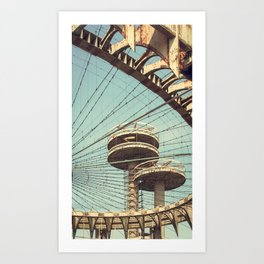 imprisoned towers... Art Print