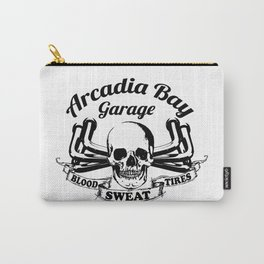 Arcadia Bay Garage - Life is strange Before the storm-13 Reasons Why Carry-All Pouch