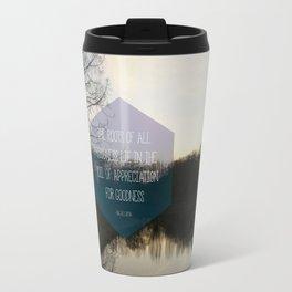 Roots Artprint Travel Mug
