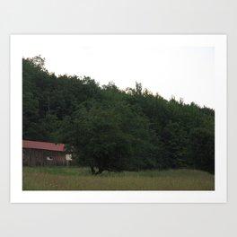Mt. Barn Art Print