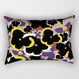 Pansy Love Rectangular Pillow