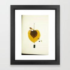 zkonqu a creative body Framed Art Print