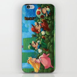 Super Mario Bros 2 iPhone Skin