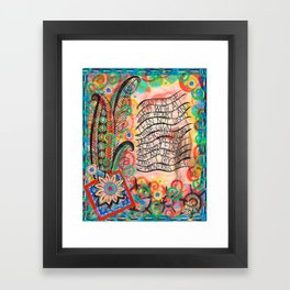 Proverbs 3:5-6 Framed Art Print