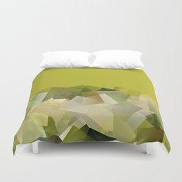 Mount St. Victory geometric. Design for Paul Cézanne Duvet Cover
