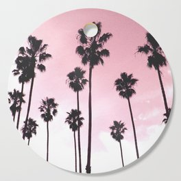 Palms & Sunset Cutting Board