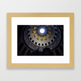 Dome of the Holy Sepulchre Framed Art Print