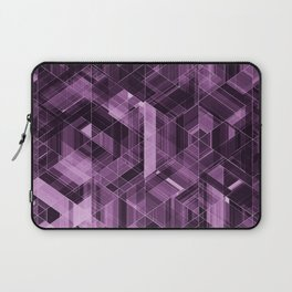 Abstract violet pattern Laptop Sleeve