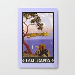 1920 Lake Garda Italy Metal Print