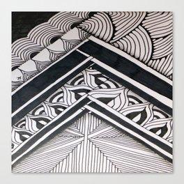 Cirumflex Canvas Print
