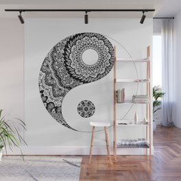Ying Yang Wall Mural