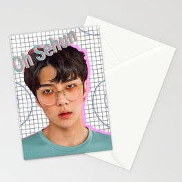 Oh Sehun Stationery Cards