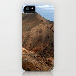 Descending from Khardung La iPhone Case