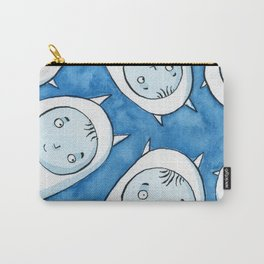 Baby Blue Monsters Carry-All Pouch