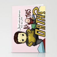data Stationery Cards featuring Data Overload by Ai-hime