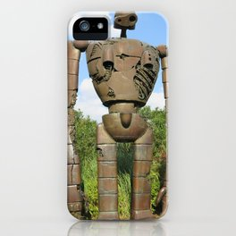 Laputan Robot II iPhone Case