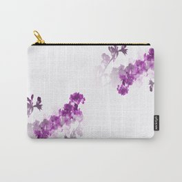Sl Cherry Purple Carry-All Pouch