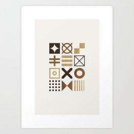 Symbols Poster Art Print