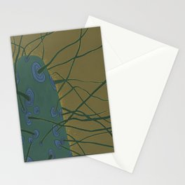 Neural Cactus Stationery Cards