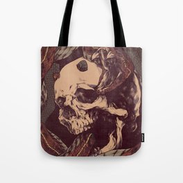 The Ouroboros of Yorick Tote Bag